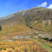 Autumn colours and Clachaig Gully