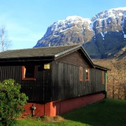 Birch Chalet, Clachaig Chalets and Lodges, Glen Coe - early spring