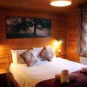 Rowan Tree Lodge - Master Bedroom