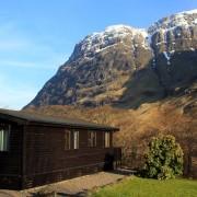 Rowan Tree Lodge, Clachaig Chalets and Lodges, Glencoe - Spring time
