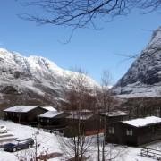 Clachaig Chalets and Lodges, Glen Coe - Winter Snow