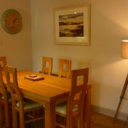 Dining at Holly Tree Cottage