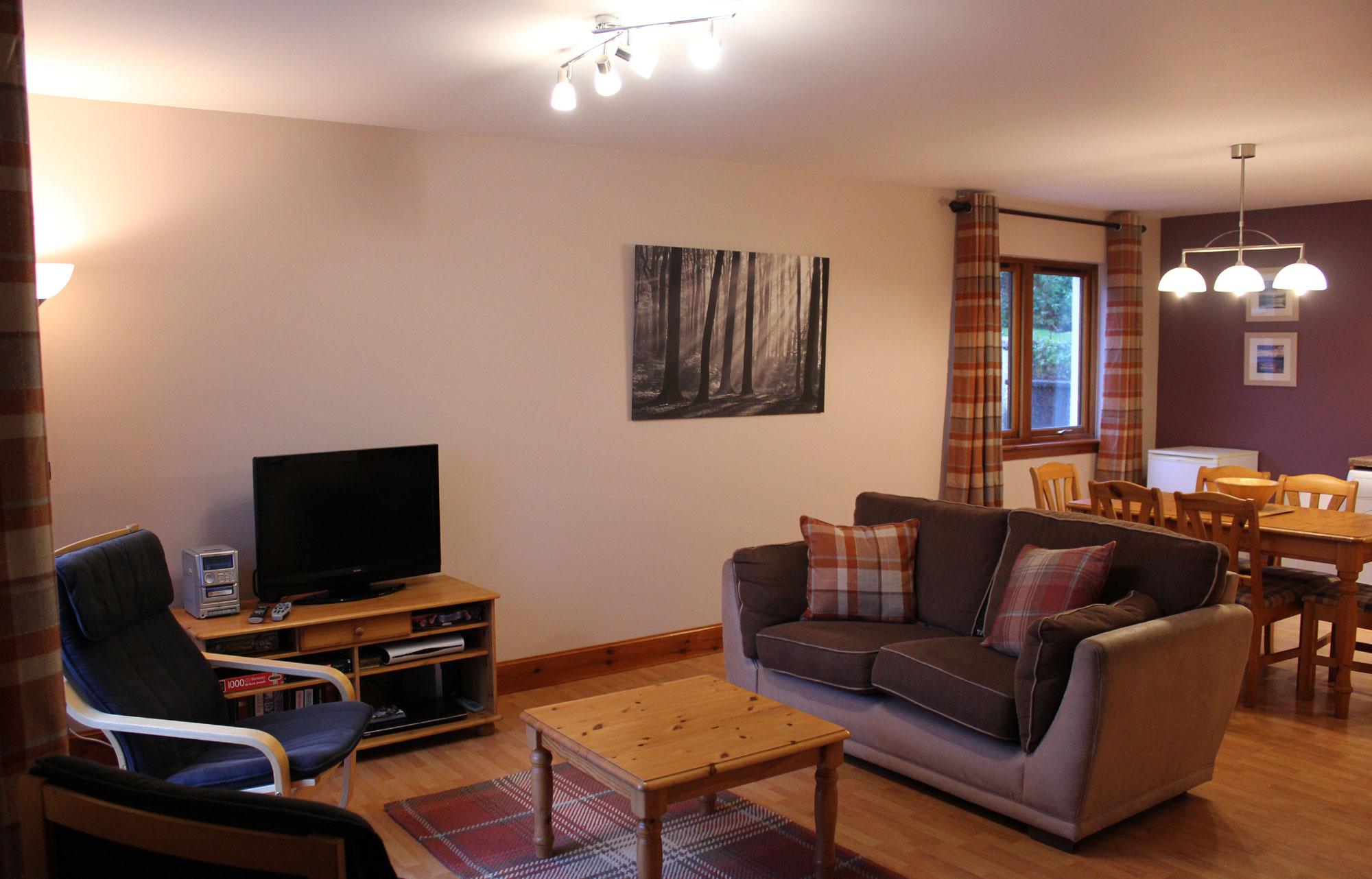 Lounge - Quarry Cottages