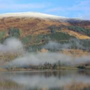 November mist on Loch Leven.