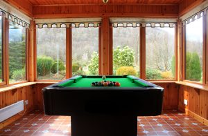 The games room Hawthorn Cottage Glencoe