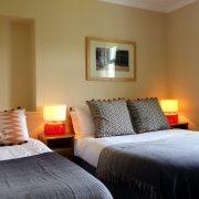 Family bedroom, Camus Bhan, Invercoe