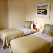 Twin bedded room, Camus Bhan Invercoe