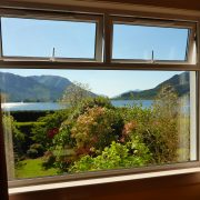 View over Loch Leven from the dining room